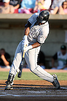 August 17 2008:  Joe Dunigan (21) of the Wisconsin Timber Rattlers, Class-A affiliate of the Seattle Mariners, during a game at Philip B. Elfstrom Stadium in Geneva, IL.  Photo by:  Mike Janes/Four Seam Images