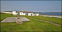 BNPS.co.uk (01202 558833)<br /> Pic: Lows/BNPS<br /> <br /> Two further cottages are included in the sale.<br /> <br /> To the Lighthouse? - for sale stunning property perched above the storm tossed Pentland firth.<br /> <br /> This stunning 19th century lighthouse boasts breathtaking views but you'll need to close the curtains at night if you buy it as the light is still operational. <br /> <br /> Cantick Head Lighthouse on the remote Scottish island of Hoy is perched perilously on top of a 115ft cliff, with spectacular views over a strait of water separating the Orkney Islands and the mainland. <br /> <br /> Built in 1856 it was manually operated for 135 years, at which point it was sold and converted, along with two adjacent buildings, into a holiday rental. <br /> <br /> All three residences, which together comprise seven bedrooms, are being sold for &pound;275,000.