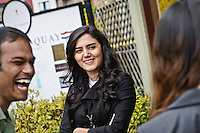 Photos for Kingston University  London international student brochures and prospectuses.??Lively and historic environment - .outside Wagamamas restaurant..??Date Taken: 19/04/10??Location: ??Contact:??Commissioned by:  Kingston University - Emma Carlino?Emma Carlino.International Marketing Communications Manager.International Centre.Kingston University London.Swan Wing, River House.53-57 High Street.Kingston upon Thames.London.KT1 1LQ.UK.Tel: +44(0)20 8417 3006.Fax: +44(0)20 8417 3028.Email: e.carlino@kingston.ac.uk.Website: www.kingston.ac.uk/international