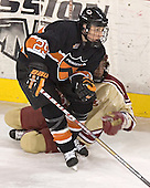 Kyle Hagel (Steven Cook) - The Princeton University Tigers defeated the University of Denver Pioneers 4-1 in their first game of the Denver Cup on Friday, December 30, 2005 at Magness Arena in Denver, CO.