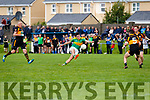 Graham O'Sullivan for South Kerry given too much space finishes this attack with a point.