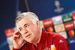 FC Bayern Munchen's coach Carlo Ancelotti in press conference before training session. April 17,2017.(ALTERPHOTOS/Acero)
