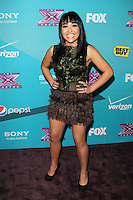LOS ANGELES, CA - NOVEMBER 05: Jennel Garcia at the FOX's 'The X Factor' Finalists Party at The Bazaar at the SLS Hotel Beverly Hills on November 5, 2012 in Los Angeles, California. Credit: mpi26/MediaPunch Inc. .<br />