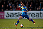 5th November 2017, Damson Park, Solihull, England; FA Cup first round, Solihull Moors versus Wycombe Wanderers; Sean St Ledger of Solihull Moors hits a pass forward