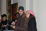 "Ruben Santiago-Hudson (Another World ""Billy Cooper"", All My Children, Person of Interest, Castle, West Wing) & Tracie Thoms (Rent, Cold Case, Harry's Law) star in Broadway's Stick Fly at the Cort Theatre, New York City, New York on December 17, 2011. (Photo by Sue Coflin/Max Photos)"