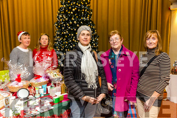 Enjoying the Recovery Haven Christmas Craft Fair at Manor West Hotel on Thursday were Lilian Hanafin, Julie Scanlon, Mags Lynch with Mary Stack and Theresa Parkinson