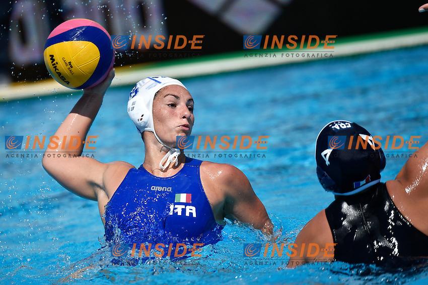 MOTTA Silvia Italia <br /> Italy - France / Italia - Francia<br /> LEN European Water Polo Championships 2014<br /> Alfred Hajos -Tamas Szechy Swimming Complex<br /> Margitsziget - Margaret Island<br /> Day03 Women - July 16 <br /> Photo A.Staccioli/Insidefoto/