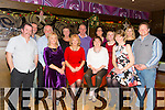 Enjoying the Tralee Rowing Club Christmas party at the Grand Hotel on Friday were Front l-r Miriam Pope, Celine Cusack, Breda O'Donnell, Heidi Giles.  Back l-r Neville Pope, John Flynn, Paul Cusack, Sue Hook, John O'Shea, Mary Bonner, Sarah McLoughlin, Eileen Nagle, Daniel Giles.