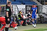 Benjamin Huebner (Hoffenheim) geht nach gelb-roter Karte vom Platz.<br /> <br /> Sport: Fussball: 1. Bundesliga: Saison 19/20: 28. Spieltag: TSG 1899 Hoffenheim - 1. FC Koeln, 27.05.2020<br /> <br /> Foto: Markus Gilliar/GES/POOL/PIX-Sportfotos.<br /> <br /> Nur für journalistische Zwecke! Only for editorial use!<br /> <br /> Gemäß den Vorgaben der DFL Deutsche Fußball Liga ist es untersagt, in dem Stadion und/oder vom Spiel angefertigte Fotoaufnahmen in Form von Sequenzbildern und/oder videoähnlichen Fotostrecken zu verwerten bzw. verwerten zu lassen. DFL regulations prohibit any use of photographs as image sequences and/or quasi-video.