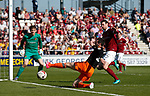 Danny Lafferty of Sheffield Utd in action during the English League One match at Sixfields Stadium Stadium, Northampton. Picture date: April 8th 2017. Pic credit should read: Simon Bellis/Sportimage