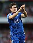 Leicester's Harry Maguire in action during the premier league match at the Emirates Stadium, London. Picture date 11th August 2017. Picture credit should read: David Klein/Sportimage