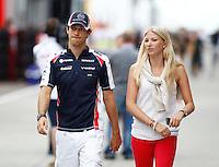 BUDAPESTE, 27 JULHO 2012 - F1 GP DA HUNGRIA -  O piloto brasileiro da equipe Williams Bruno Senna durante treino para o GP da Hungria que acontece nesse final de semana em Budapeste. (FOTO PIXATHLON / BRAZIL PHOTO PRESS).