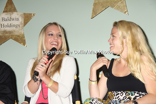 One Life to Live Kristen Alderson & Bree Williamson at A Night of Stars on May 14 at Bistro Soleil, Olde Marco Inn, Marco Island, Florida - SWFL Soapfest Charity Weekend May 14 & !5, 2011 benefitting several children's charities including the Eimerman Center providing educational & outfeach services for children for autism. see www.autismspeaks.org. (Photo by Sue Coflin/Max Photos)