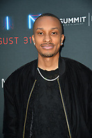 "LOS ANGELES, CA. August 29, 2018: Rashaad Dunn  at the premiere of ""KIN"" at the Arclight Theatre, Hollywood."