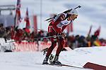 IBU Biathlon World Cup<br /> &copy; Pierre Teyssot <br />  Lars Berger (NOR) in action during the IBU Biathlon World Cup