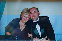 Pictured: Copy picture of Lynne Lewis with husband Thomas John Lewis circa 2012.<br /> Re: Lynne Lewis, 66, from Pentwyn, south Wales, whose late husband Thomas John Lewis worked for BT for 42 years and BT keep delaying his pension pay out after his death in early November 2018.