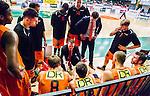 S&ouml;dert&auml;lje 2015-02-03 Basket Basketligan S&ouml;dert&auml;lje Kings - Norrk&ouml;ping Dolphins :  <br /> Norrk&ouml;ping Dolphins tr&auml;nare head coach Lars Lasse Johansson i aktion under en timeout under matchen mellan S&ouml;dert&auml;lje Kings och Norrk&ouml;ping Dolphins <br /> (Foto: Kenta J&ouml;nsson) Nyckelord:  S&ouml;dert&auml;lje Kings SBBK T&auml;ljehallen Norrk&ouml;ping Dolphins tr&auml;nare manager coach timeout