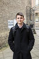 Adam Long, 19, conservatuve voting student in Cambridge. Interviewed by Amelia Gentleman. Photos by Antonio Olmos