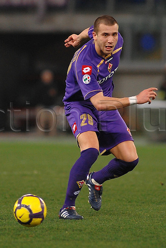 27 02 2010 Copyright Actionplus/ Sesa Lorenzo de Silvestri Fiorentina Roma 27 02 Stadio Olimpico Campionato Tue Series A 2009 Lazio Fiorentina Photo Massimo Oliva  .  Photo : Imago/Actionplus. Editorial Use UK.