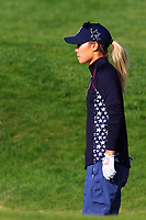 Danielle Kang (USA) on the 18th fairway during Day 3 Singles at the Solheim Cup 2019, Gleneagles Golf CLub, Auchterarder, Perthshire, Scotland. 15/09/2019.<br /> Picture Thos Caffrey / Golffile.ie<br /> <br /> All photo usage must carry mandatory copyright credit (© Golffile | Thos Caffrey)