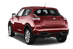 Car pictures of rear three quarter view of a 2015 Nissan JUKE TEKNA 5 Door SUV 2WD Angular Rear