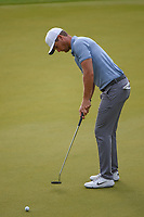 Lucas Bjerregaard (DEN) watches his putt on 2 during day 4 of the WGC Dell Match Play, at the Austin Country Club, Austin, Texas, USA. 3/30/2019.<br /> Picture: Golffile | Ken Murray<br /> <br /> <br /> All photo usage must carry mandatory copyright credit (© Golffile | Ken Murray)
