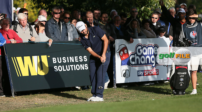 Alexander Levy (FRA) during Round Three of the British Masters 2016, played at The Grove, Hertfordshire, England. 15/10/2016. Picture: David Lloyd | Golffile.
