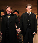 Richard Thomas and Boyd Gaines during the Broadway Opening Night Performance Curtain Call for  'An Enemy of the People' at the Samuel J. Friedman Theatre in New York. Sept. 27, 2012