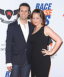 Clementine Ford with fiance at The 19th ANNUAL RACE TO ERASE MS GALA held at The Hyatt Regency Century Plaza Hotel in Century City, California on May 18,2012                                                                               © 2012 Hollywood Press Agency
