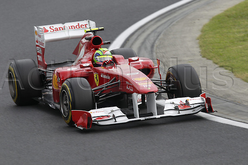 29.07.2011 FIA Formula One World Championship Grand Prix of Hungary practice session. Picture shows Felipe Massa Scuderia Ferrari.