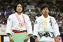 (L to R) Misato Nakamura (JPN), Yuka Nishida (JPN), .May 13, 2012 - Judo : .All Japan Selected Judo Championships, Women's -52kg class Final .at Fukuoka Convention Center, Fukuoka, Japan. .(Photo by Daiju Kitamura/AFLO SPORT) [1045]
