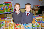 Curraheen National School in Glenbeigh had two new juniors start school last week pictured l-r; Leona Clifford & Aaron Griffin.