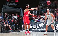 VALENCIA, SPAIN - 02/11/2016. Eurocup Jornada 3, Valencia Basket vs Union Olimpia Ljubljana. Pabellon Fuente de San Luis, Valencia, Spain.