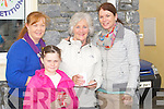 HAPPY: Happy faces at the Fenit Regatta on Sunday Trish Daughton, Mary White, Collete O'Halloran Lynn and Jade Daughton.