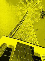 Abandoned Parachute Jump tower Coney Island