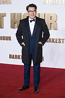 "director, Jow Wright<br /> arriving for the ""Darkest Hour"" premiere at the Odeon Leicester Square, London<br /> <br /> <br /> ©Ash Knotek  D3361  11/12/2017"