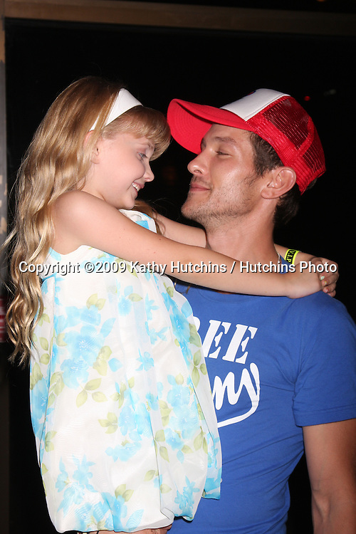 Samantha Bailey & Michael Graziadei at The Young & the Restless Fan Club Dinner  at the Sheraton Universal Hotel in  Los Angeles, CA on August 28, 2009.©2009 Kathy Hutchins / Hutchins Photo.