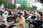 Ho Chi Minh City, Vietnam; Traffic