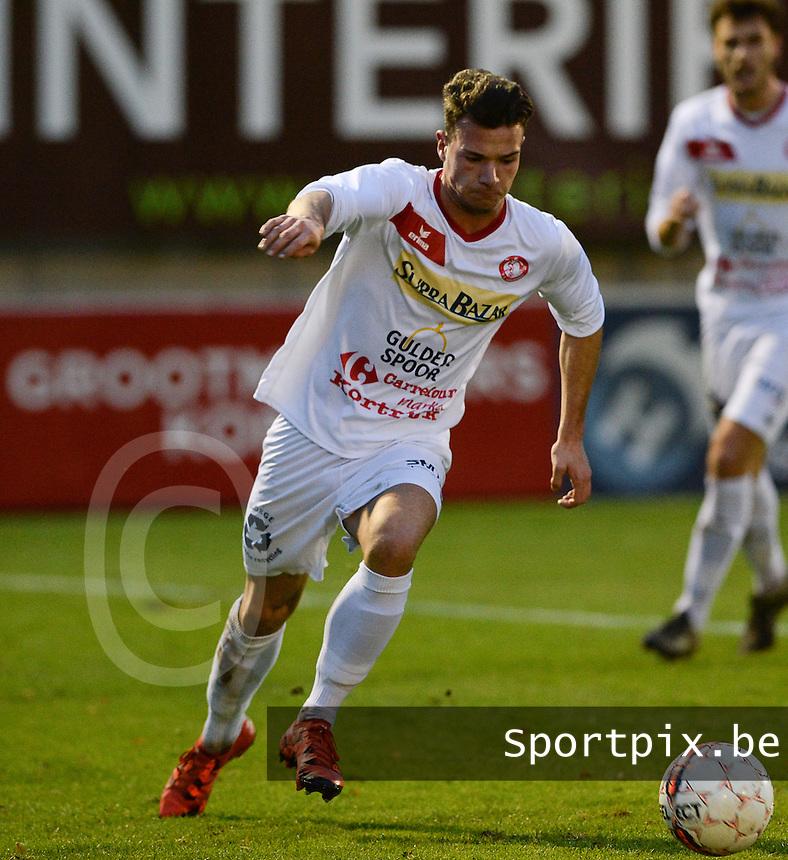 FC Gullegem : Joppe Van Heuverzwyn<br /> Foto VDB / Bart Vandenbroucke