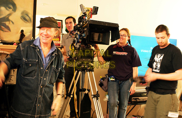 HENRY JAGLOM (DIRECTOR).on the set of Hollywood Dreams. **Editorial Use Only**.CAP/FB.Supplied by Capital Pictures
