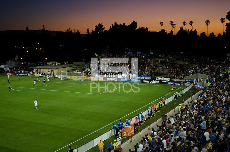 SANTA CLARA, CA - July 20, 2011: The San Jose Earthquakes tied the Vancouver Whitecaps 2-2 at Buck Shaw Stadium, on July 20th, 2011.