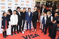 11 September 2017 - Toronto, Ontario Canada - Sareum Srey Moch, Loung Ung, Kimhak Mun, Rithy Panh, Maddox Jolie-Pitt, Pax Jolie-Pitt and Angelina Jolie, Sareum Srey Moch, Loung Ung, Kimhak Mun, Rithy Panh, Maddox Jolie-Pitt, Pax Jolie-Pitt and Angelina Jolie, Vivienne Jolie-Pitt, Knox Jolie-Pitt, Shiloh Jolie-Pitt, Zahara Jolie-Pitt. 2017 Toronto International Film Festival - &quot;First They Killed My Father&quot; Premiere held at Princess of Wales Theatre. <br /> CAP/ADM/BPC<br /> &copy;BPC/ADM/Capital Pictures