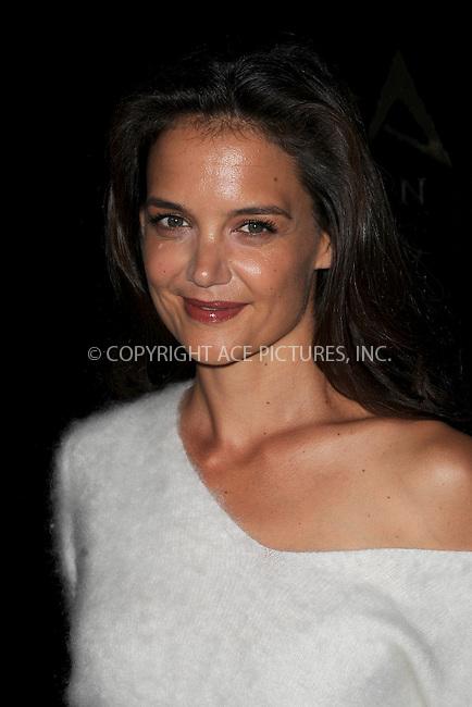 www.acepixs.com<br /> September 8, 2016  New York City<br /> <br /> Katie Holmes &amp; TAO Group unveil Avra Madison on September 8, 2016 in New York City.<br /> <br /> <br /> Credit: Kristin Callahan/ACE Pictures<br /> <br /> <br /> Tel: 646 769 0430<br /> Email: info@acepixs.com