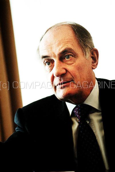 Marcel Crochet, rector of the Université Catholique de Louvain-La-Neuve (Belgium, 25/03/2004)