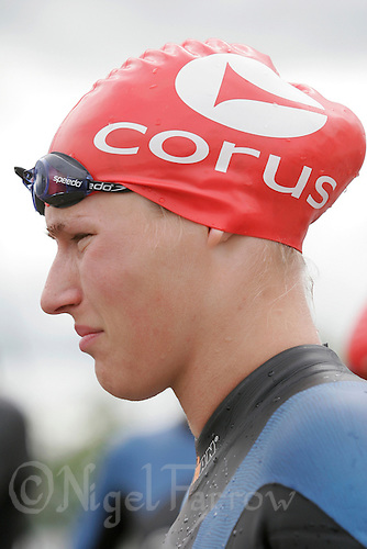 27 MAY 2007 - MOTHERWELL, UK - Anne Kwist - Corus Elite Triathlon Series Rd 1. (PHOTO (C) NIGEL FARROW)