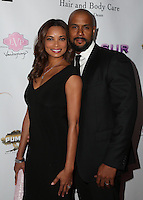 LOS ANGELES, CA - NOV 11: Rochelle Aytes,  CJ Lindsey  attends the first annual Vanderpump Dog Foundation Gala hosted and founded by Lisa Vanderpump, Taglyan Cultural Complex, Los Angeles, CA, November 3, 2016. (Credit: Parisa Afsahi/MediaPunch).