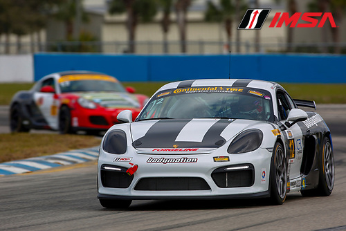 16-18 March, 2016, Sebring, Florida, USA<br /> 12, Porsche, Cayman GT4, GS, Cameron Cassels, Cameron Cassels<br /> &copy;2016, Jake Galstad<br /> LAT Photo USA