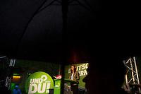 Berlin, Die Spitzenkandidatin zur Bundestagswahl, Katrin Goering-Eckardt spricht am Freitag (20.09.13) bei einer Wahlkampfveranstaltung von Bündnis 90 / Die Grünen. Foto: Steffi Loos/CommonLens