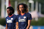 15 June 2016: New England's Zachary Herivaux (JPN). The Carolina RailHawks hosted the New England Revolution at WakeMed Stadium in Cary, North Carolina in a 2016 Lamar Hunt U.S. Open Cup fourth round game.
