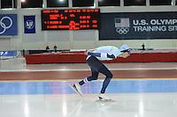 SPEED SKATING: SALT LAKE CITY: 21-11-2015, Utah Olympic Oval, ISU World Cup, 10.000m Men, Bart Swings (BEL), ©foto Martin de Jong